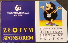 Telefonkarte Polen - Werbung - Sport - Igel - Polen