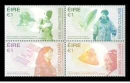 Ireland/Eire 2019 - Space Explorations Stamp Set Mnh - 1949-... República Irlandése