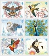 Jersey 2019 - Europa 2019 – National Birds: Birds & Symbolism Stamp Set Mnh - Jersey