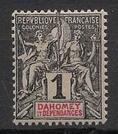 Dahomey - 1901 - N°Yv. 6 - Groupe 1c Noir - Neuf Luxe ** / MNH / Postfrisch - Nuevos