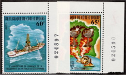 IVC SC #482-3 1978 Discovery Of Oil  CV $2.80 - Ivory Coast (1960-...)
