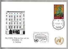 N 277) UN Wien 1997 SSt Salzburg: Abb: Mozart Geburtshaus - Musik