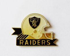 Pin's Casque Football Américain RAIDERS -  SB/1 - Football