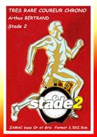 """LE SUPER Et RARE COUREUR """"STADE 2"""" : Création Arthus BERTRAND En ZAMAC Or Et GRIS, CHRONO Média Format 3,5X2,5cm - Arthus Bertrand"""