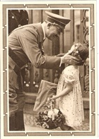 GANZSACHE Reichskanzler Mit Kleinem Mädchen 6+19 Pfg Sonderkarte Orts Sonderstempel WIEN 20.4.1939 Zum 50. Geburtstag - Germany