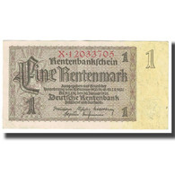 Billet, Allemagne, 1 Rentenmark, 1937, 1937-01-30, KM:173b, SUP - [ 3] 1918-1933 : República De Weimar