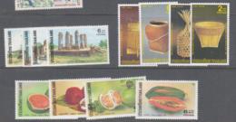 THAILAND -  1986 FRUITS, BASKETS AND1988 SUKHOTHAI SETS MINT NEVER HINGED , SG CAT £15.50 - Thailand