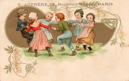 CPA Avec Publicité Pour E.Aufrère , Boulevard Magenta à Paris - Publicité