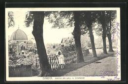 AK Einbeck, Partie Am Wall Und Synagoge - Jodendom