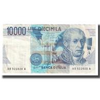 Billet, Italie, 10,000 Lire, KM:112c, SPL - [ 2] 1946-… : République
