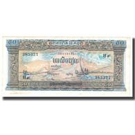 Billet, Cambodge, 50 Riels, KM:7c, TTB - Cambodge