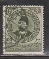 EGYPT Scott # 187 Used - 10th UPU Congress - Egypt