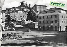 Lazio-roma-capranica Prenestina Piazza Pietro Baccelli Veduta Anni 50/60 - Italia