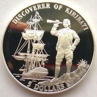 Kiribati, 5 Dollars 1996 - Silver Proof - Kiribati