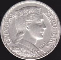 Lettonie, 5 Lati 1931 - Silver - Lettland