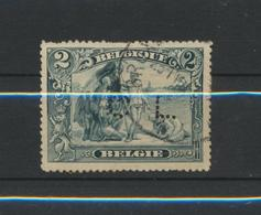 Perforé  Perfin Sur 146 Oblitéré -Congo - 1909-34