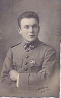 CARTE-PHOTO De Léon MARRER Du 506è RCC Tankiste Militaire, à Besançon - Photo MILDNER, 21 Rue Du Capitole - Regiments