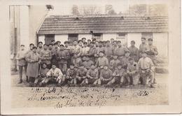 CARTE-PHOTO 506è RCC Tankistes Militaires, Premier épluchage De Patates Des Bleus, à Besançon 1925 - Regimientos