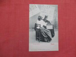 Scrivano Pubblico Napoli-- Wrote Letters For Other Who Were Illiterate       Ref 3527 - Europa