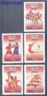 Russia 1996 Mi 514-518 MNH ( ZE4 RSS514-518 ) - Gymnastics