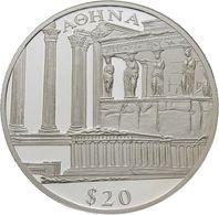 Liberia, 20 Dollars 2001 - Silver Proof - Liberia