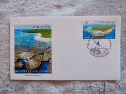 NEW-CALEDONIA , TIGA Island, First Day Cover - New Caledonia