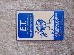 Ticket D'entree E.T. UNIVERSAL STUDIOS LOS ANGELES HOLLYWOOD - Toegangskaarten