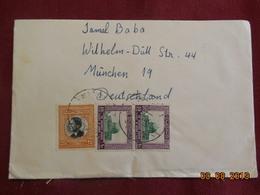 Lettre De 1965 à Destination De Munich - Jordanie