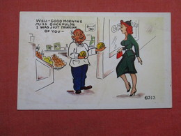 Risque Humor   Man With Large Fruit I Was Thinking Of You           Ref 3529 - Humour