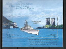 TAAF  2011  Navire  Cat Yt  N°  597    N** MNH - Blocs-feuillets