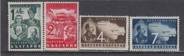 Bulgaria 1940 - Rattachement De La Dobroudja Meridionale, YT 350/53, MNH** - 1909-45 Regno