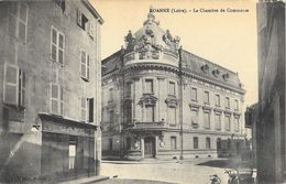 Roanne - La Chambre De Commerce Rue De Marengo, Café - Photo Bouléry - Roanne