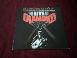NEIL  DIAMOND  ° LIVE DIAMOND - Vinyl-Schallplatten