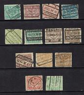 BELGIUM.....parcel Post...1920+ - Bahnwesen