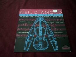 NEIL  DIAMOND  °  SOLID GOLD PLAYED BY THE MARINA STRINGS - Vinyl-Schallplatten