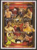 Centrafricaine - 1997 - N°Yv. 1221 à 1229 - Bruce Lee - Neuf Luxe ** / MNH / Postfrisch - Acteurs