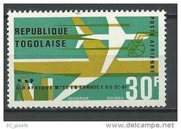 "Togo Aerien YT 54 (PA) "" Mise En Service DC-8F "" 1966 Neuf** - Togo (1960-...)"