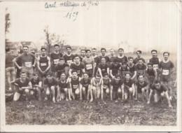 ATHLÉTISME - Photo Par LEMESLE à ANTONY - Format 13 X 18 Cm - Cercle Athlétique De PARIS En 1929 3 Scans - Sport