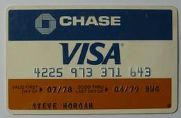 USA - Credit Card - VISA - Chase - Exp 04/79 - Used - Krediet Kaarten (vervaldatum Min. 10 Jaar)