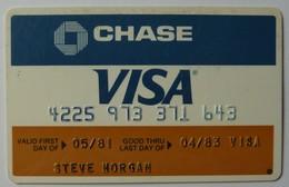 USA - Credit Card - VISA - Chase - Exp 04/83 - Used - Krediet Kaarten (vervaldatum Min. 10 Jaar)