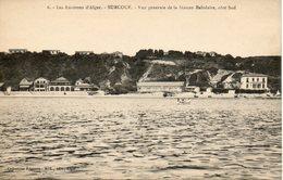 6 - Les Environs D'Alger - SURCOUF - Vue Générale De La Station Balnéaire Côté Sud Collection Régence A. L. édit. Alger - Andere Städte