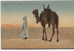 Egyptian Scenes And Types - La Prière Au Désert - Arabs And Camels  Kamelen - Ed. LL - Personas