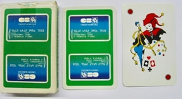 JEU DE 32 CARTES + 1 JOKER AVEC ETUI CB CA CREDIT AGRICOLE / CARTES A JOUER HERON - Cartes à Jouer Classiques