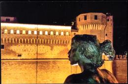 Cesena Statua Ragazza Con La Rocchetta - Cesena