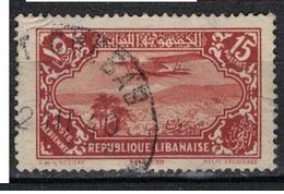 GRAND LIBAN            N°     YVERT   PA 45           OBLITERE       ( Ob  5/02 ) - Aéreo