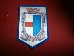 Autres Collections > Ecussons Tissu Petit Ecusson Tissu De Saint-chamond - Ecussons Tissu