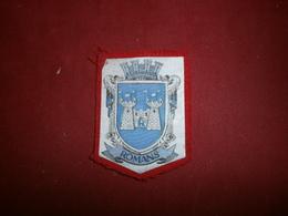 Autres Collections > Ecussons Tissu Petit Ecusson Tissu De Romans - Ecussons Tissu