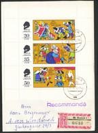 Deutschland - DDR -Bedarfsbrief - Mi.Nr. -2096-2098 Szenen Aus Dem Märchen Von Hans Christian Andersen - Märchen, Sagen & Legenden