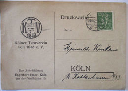Sport, Turnverein Köln 1843, 70 Jährige Stiftungsfest 1922 (44852) - Other