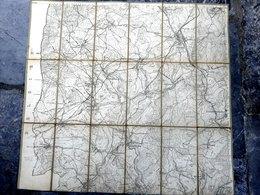 Saint Vith Thommen Lommersweiler Krombach Maldingen Rodt Vers 1900 Prusse / RARE - Cartes Géographiques
